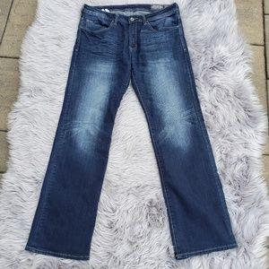 Buckle Brady-X Straight Stretch Men's Jeans 34/34